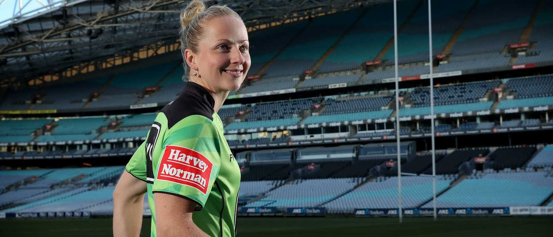 First female referee to officiate an NRL game