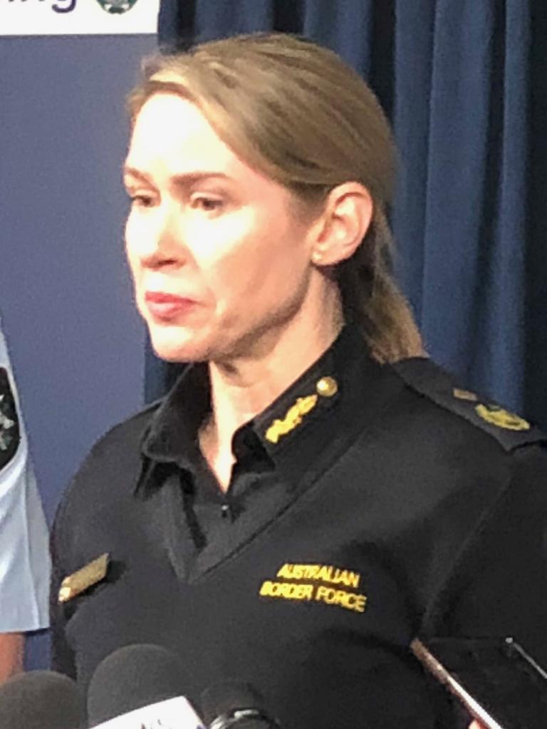 Australian Border Force acting deputy commissioner of operations Sharon Huey.