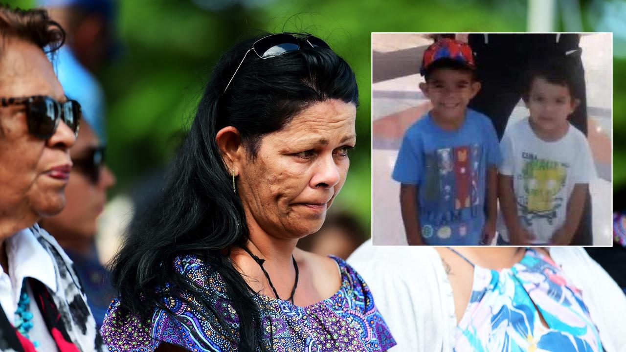 Leeanne Chrysilla Eatts faces 14 charges over the deaths of her sons Barak Austral and Jhulio Sariago.