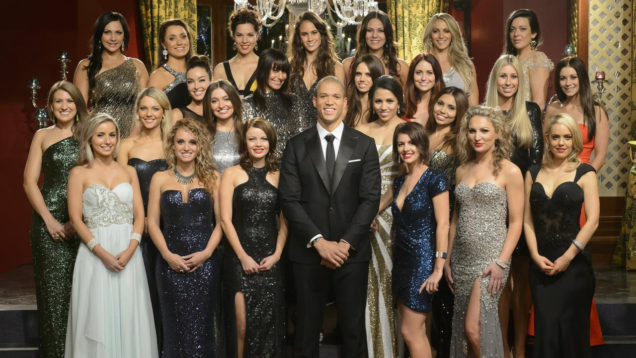 Bachelor Blake Garvey's group of bachelorettes. Picture: Supplied/Channel 10