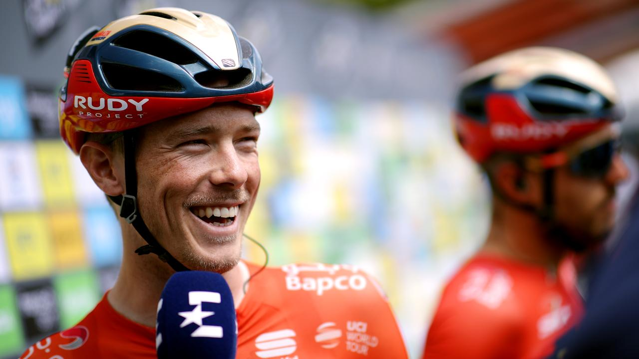 Rohan Dennis has his eyes on a stage win in Pau.