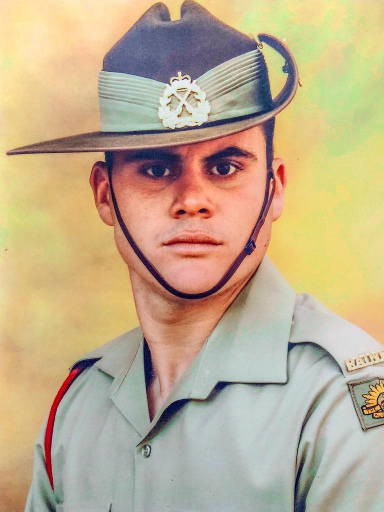 Private Bradley Carr.