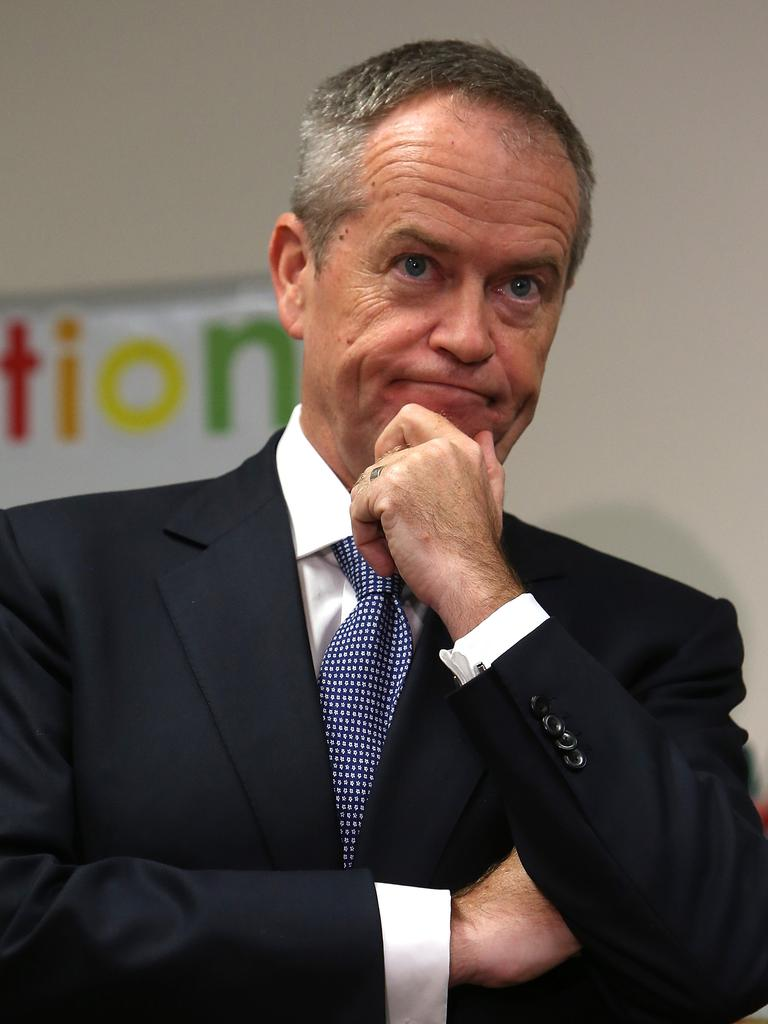 Former Labor leader Bill Shorten. Picture: Kym Smith