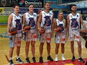 Rockhampton basketballers Shaun Bruce, Jacinta