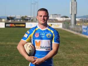 South Sharks player Beauden Dixon.