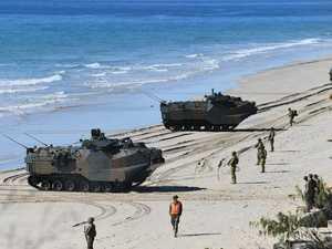 Amphibious Beach Landing
