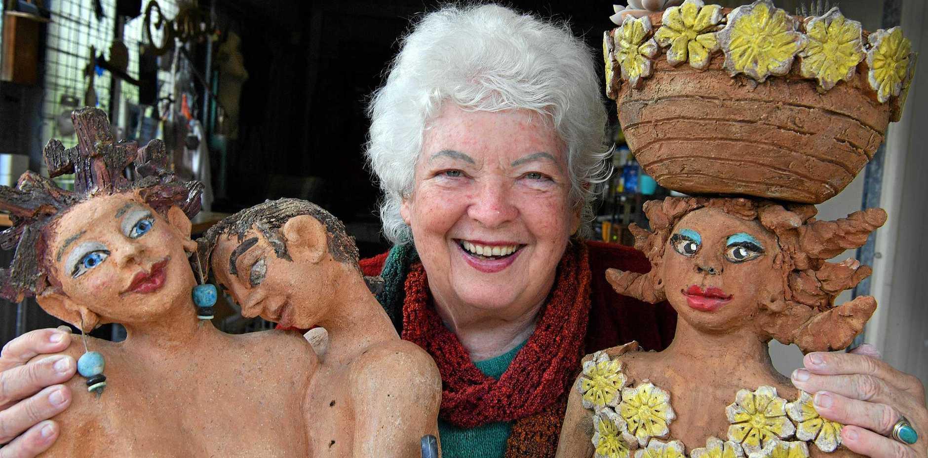 POTTER FOREVER: Carole Parsons won't let Parkinson's stop her.
