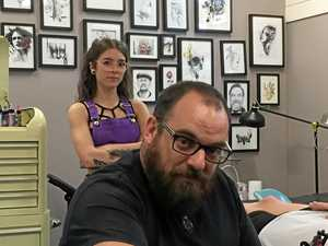 Insurance hike forces tattooist to shut up shop