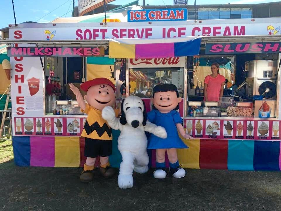 Sandy's Ice Cream have been serving up Wine and Food day treats for more than 10 years.