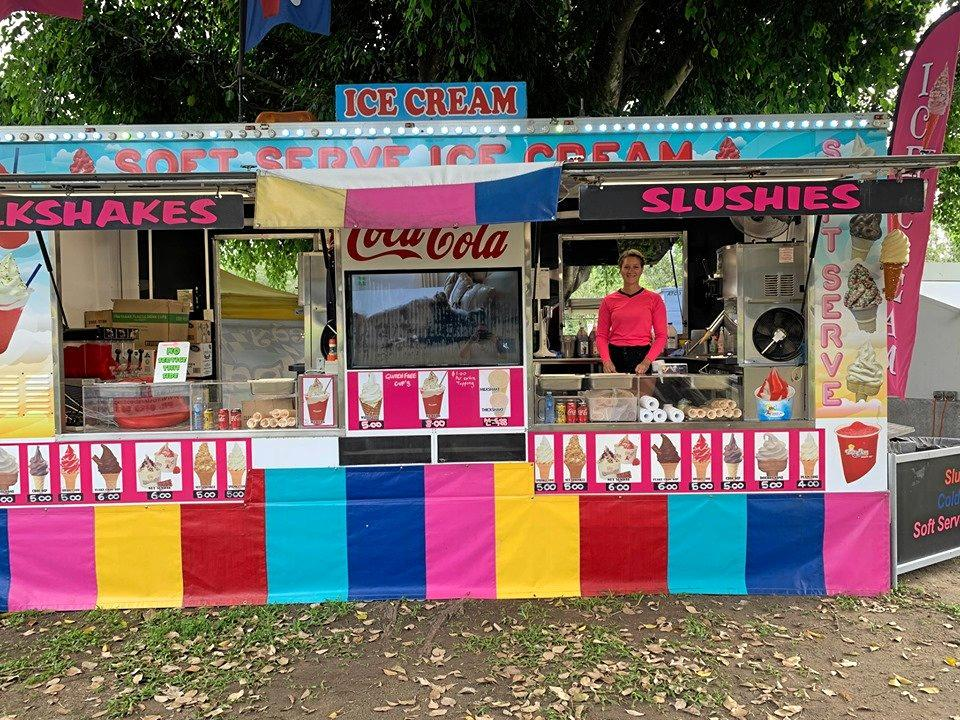 A well known and long-running food truck, Sandy's Icecream, will be available at G&S Engineering Wine and Food Day