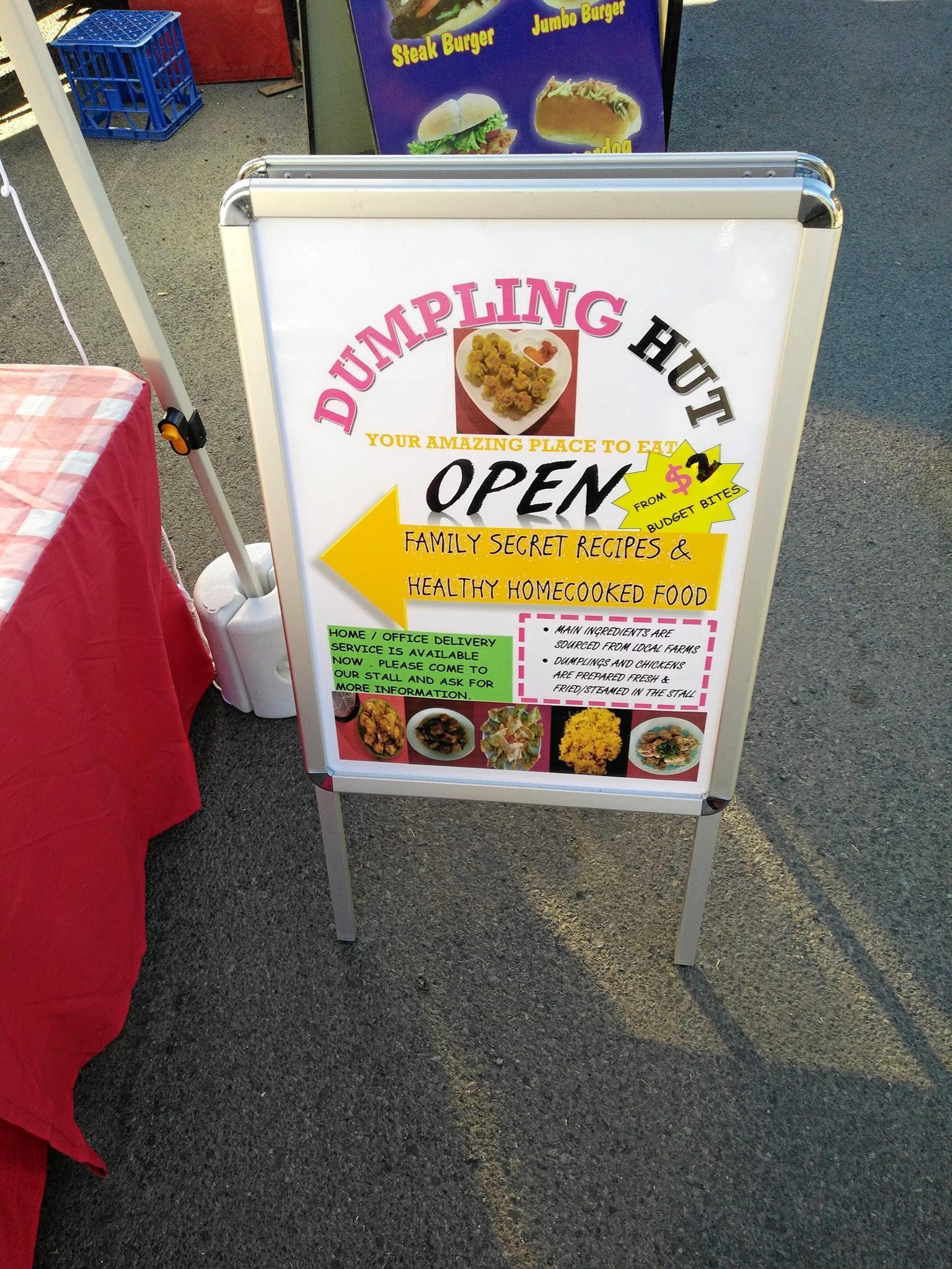 Dumpling Hit will serve up their signature healthy homemade dumplings