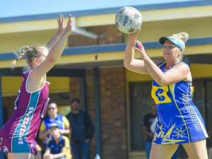 PICS: Dyball calls time on an amazing netball career