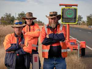 New speed signs: Motorists out west to slow down for a smile