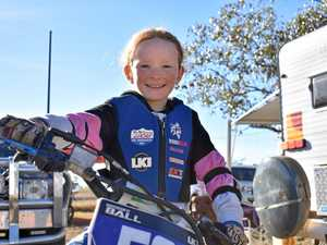 How dad inspired Brooke to follow motocross dream