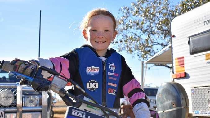 Pint-sized rider takes home two golds