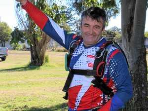 Skydiver's soaring international career celebrated