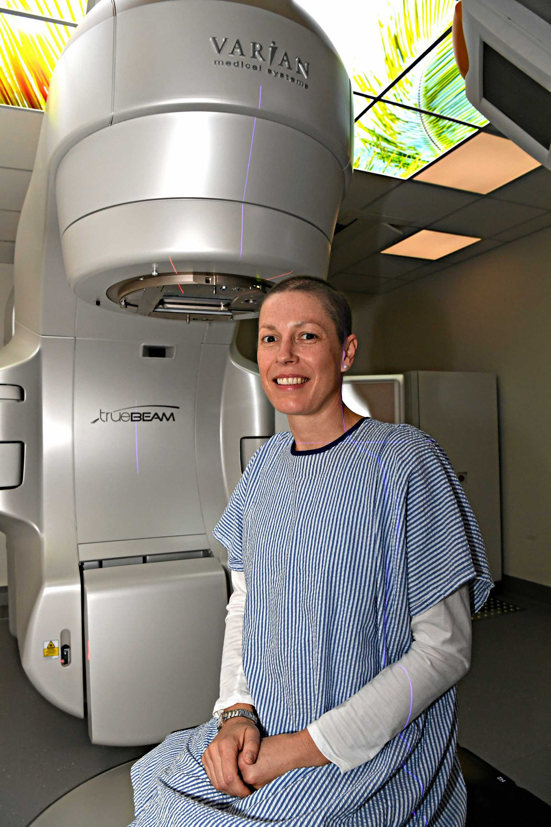 Cancer care centre helping lcal patients on the Sunshine Coast.Kate Szumowski is being treated at the centre.