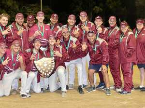 This time Queensland beat the Blues - in softball