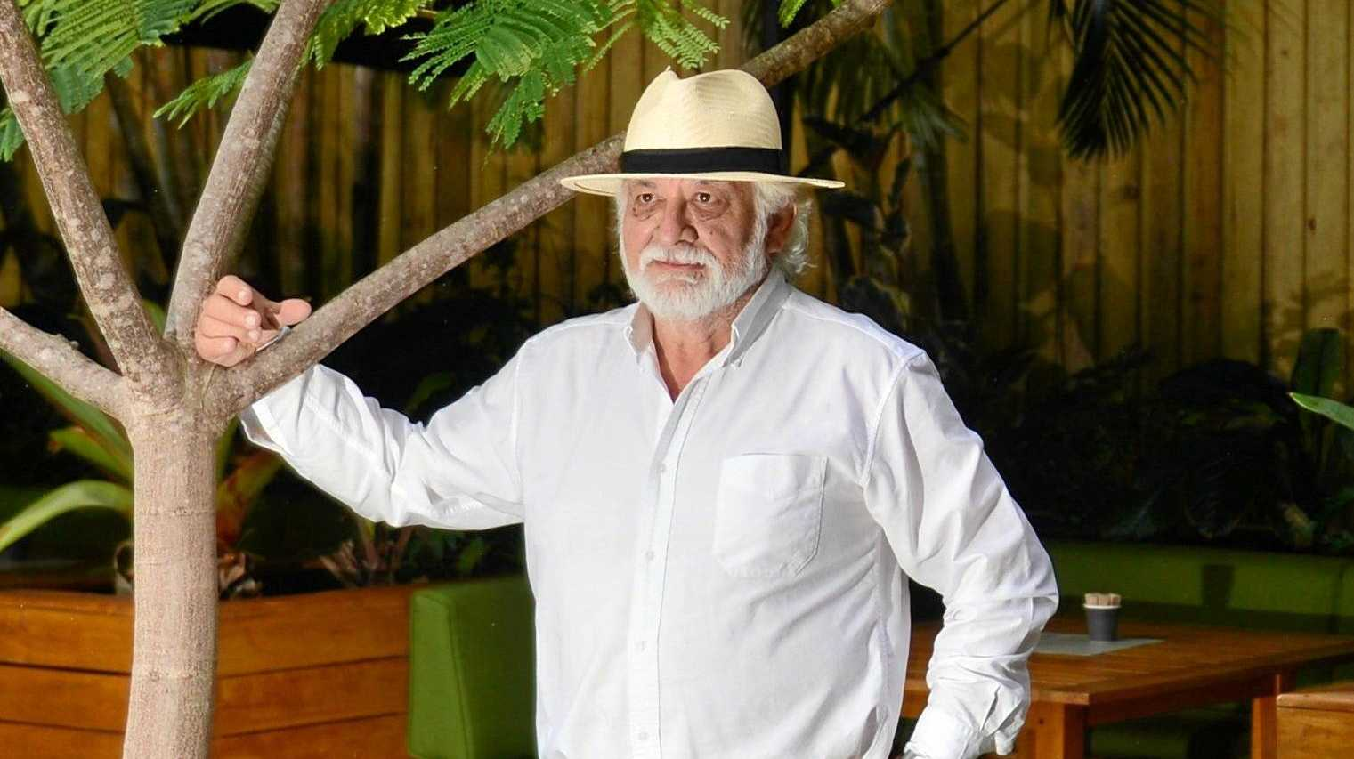 NOT ON: Ralph Rogers believes Noosa's proposed signage changes are anti-business.