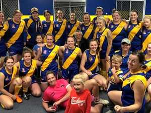 How fantastic women's footy team created a new lease on life