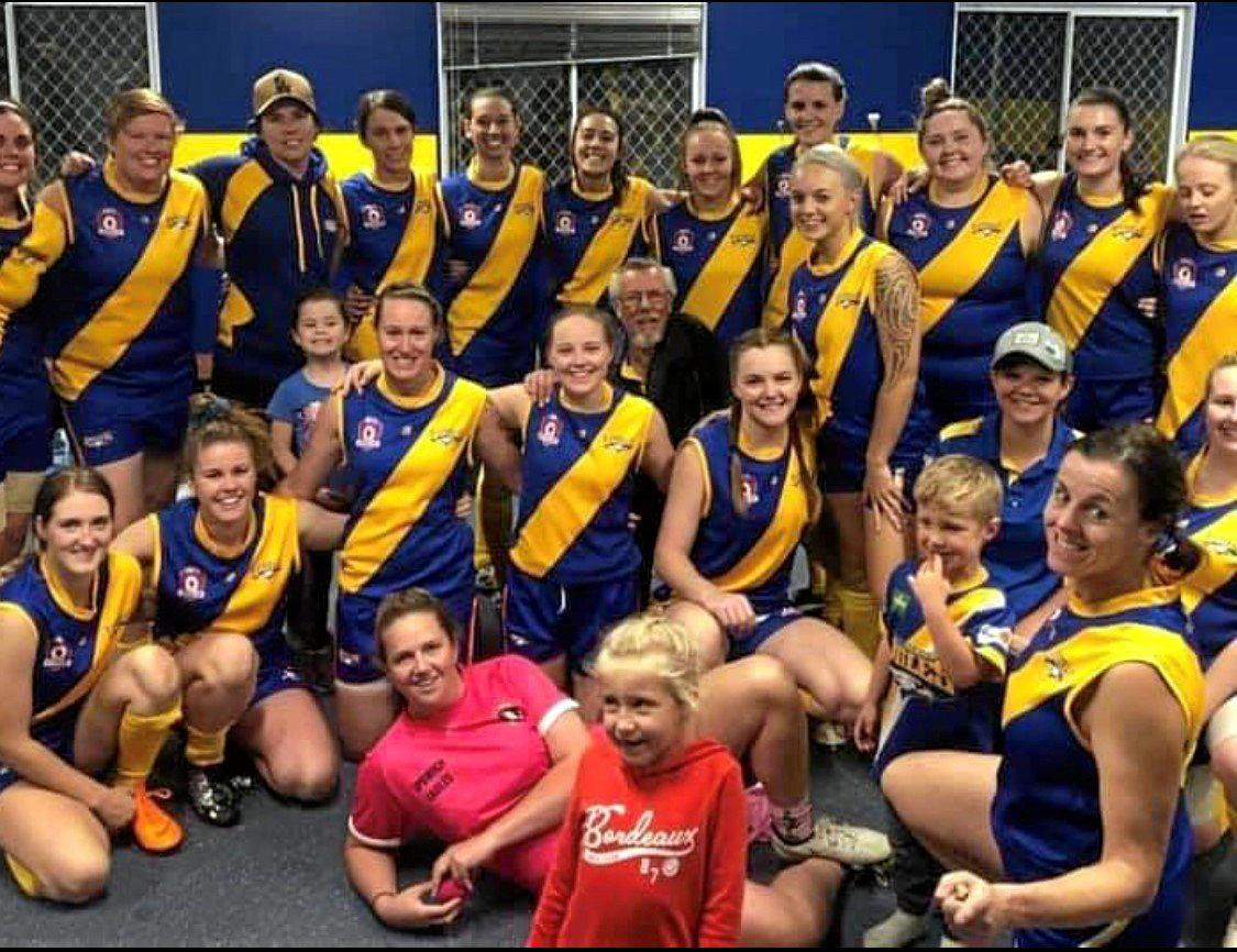 AMAZING PROGRESS: The Ipswich Eagles Aussie rules team impressing this season.