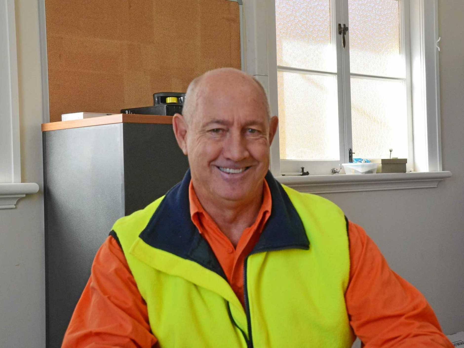Departing Council CEO Gary Rinehart.
