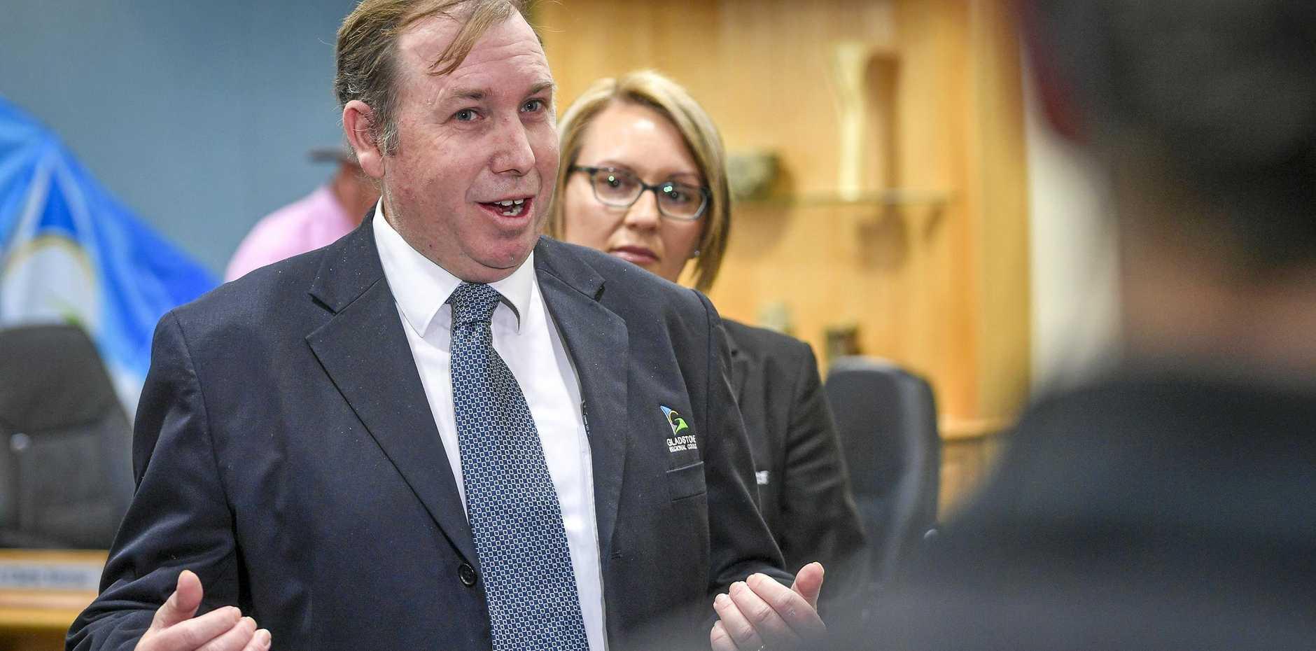 General manager for finance, governance and risk Mark Holmes.