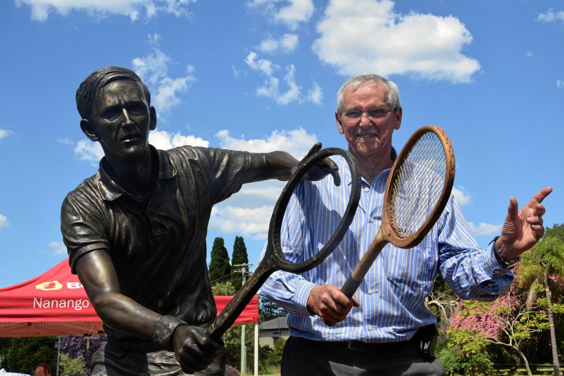 NEW HONOUR: Blackbutt is working towards a new honour for Australian tennis champion Roy Emerson