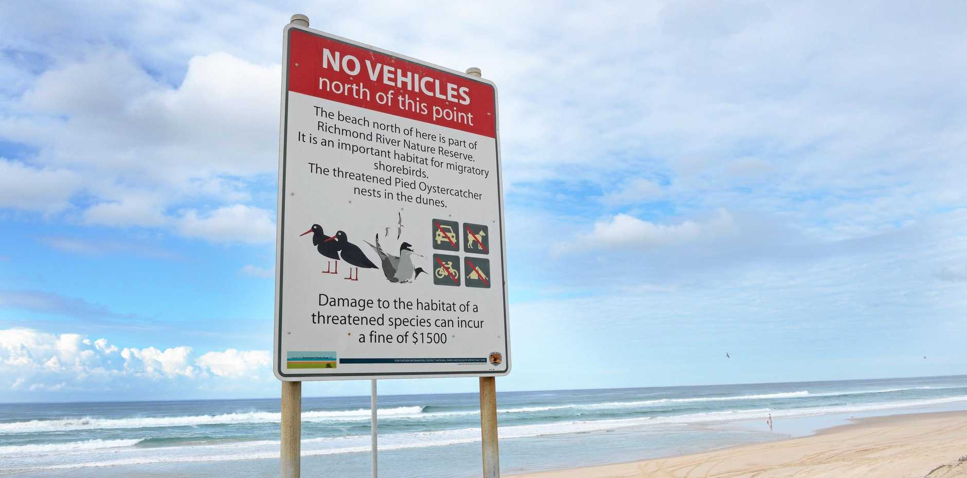 South Ballina Beach. Photo : Mireille Merlet-Shaw/The Northern Star