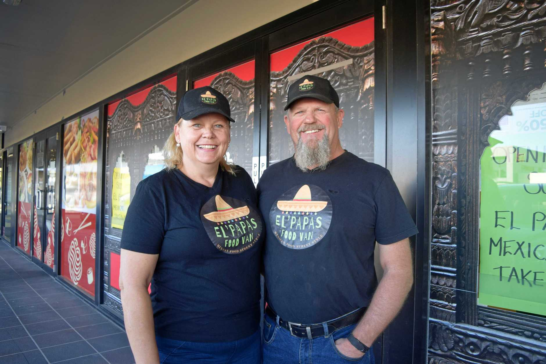Owners of El PAPAS food van Frank and Mandy Shanks are excited to open a permanent takeaway store in Andergrove.