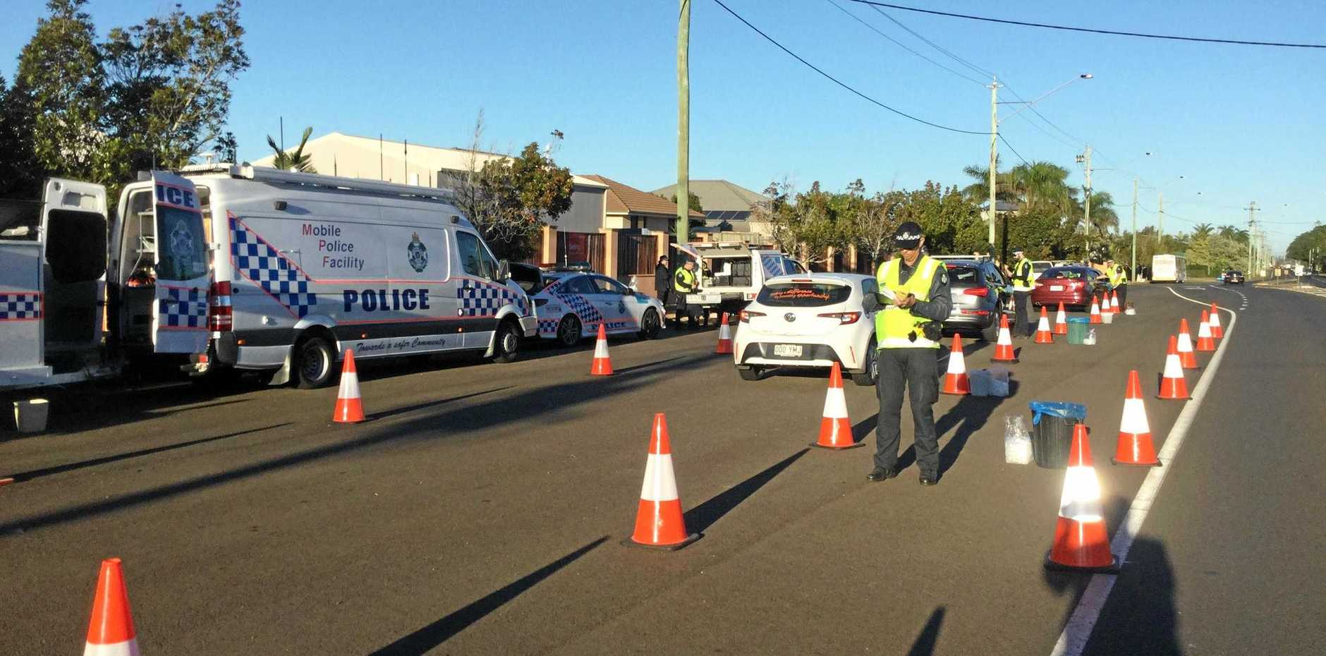 Bundaberg Police conducted an RBT operation on Bargara Rd this morning.