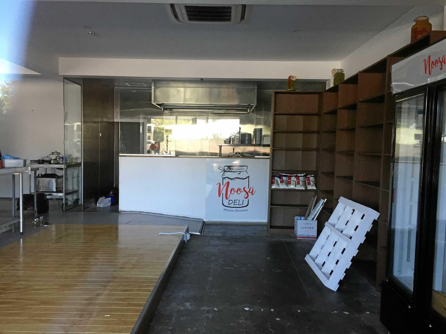 Noosa Deli closed down on July 9.