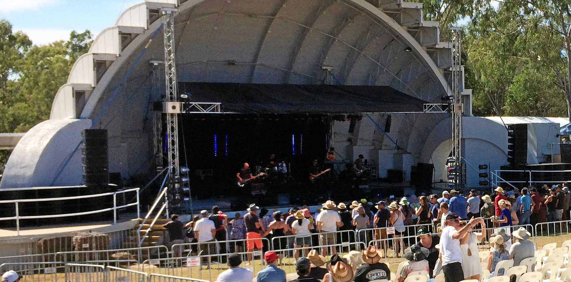 MUSIC HUB: 1927 playing at Rocky Rocks 2016 at the Music Bowl.