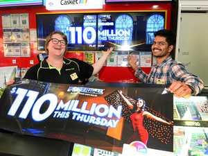 Locals spending big in hopes of winning $110 million