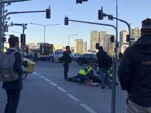 Nine arrests as CBD protesters swarm