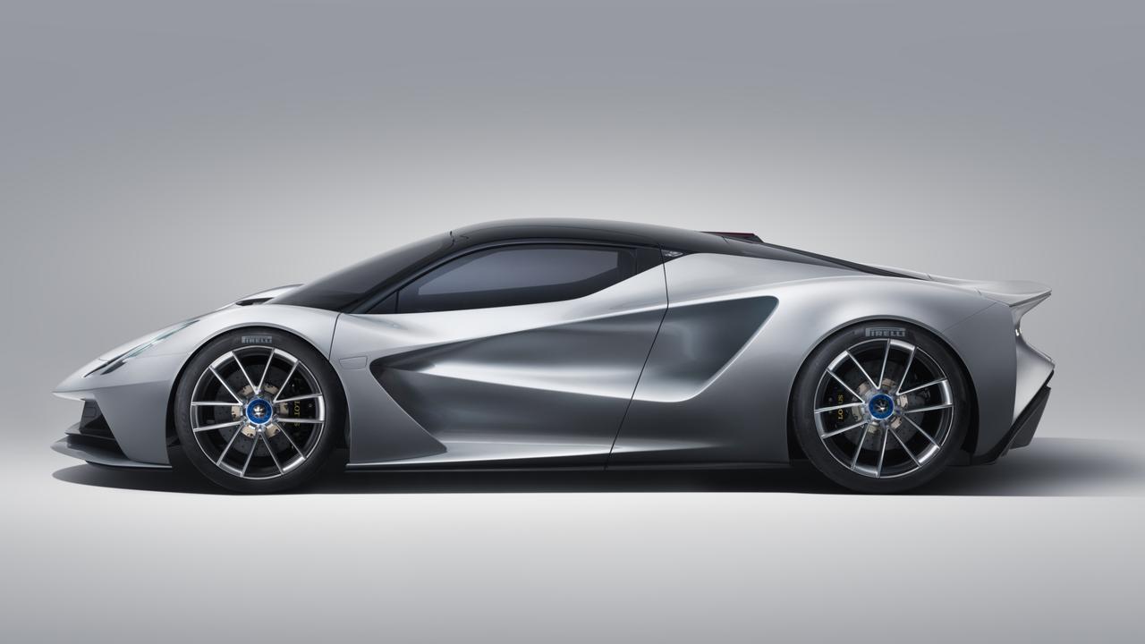 Lotus Evija design draws inspiration from Le Mans racers.