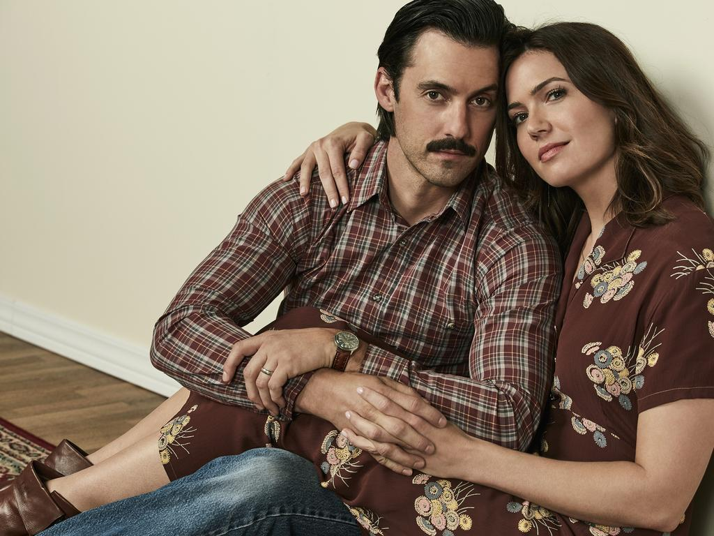 Milo Ventimiglia and Mandy Moore were both nominated for This is Us. Picture: NBC