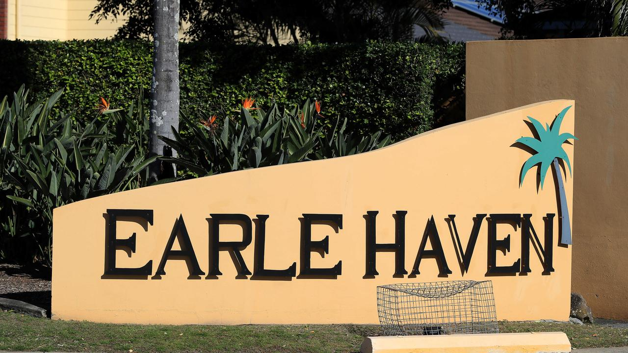 Earle Haven's nursing home suddenly closed due to a 'contract dispute.' Pics Adam Heade