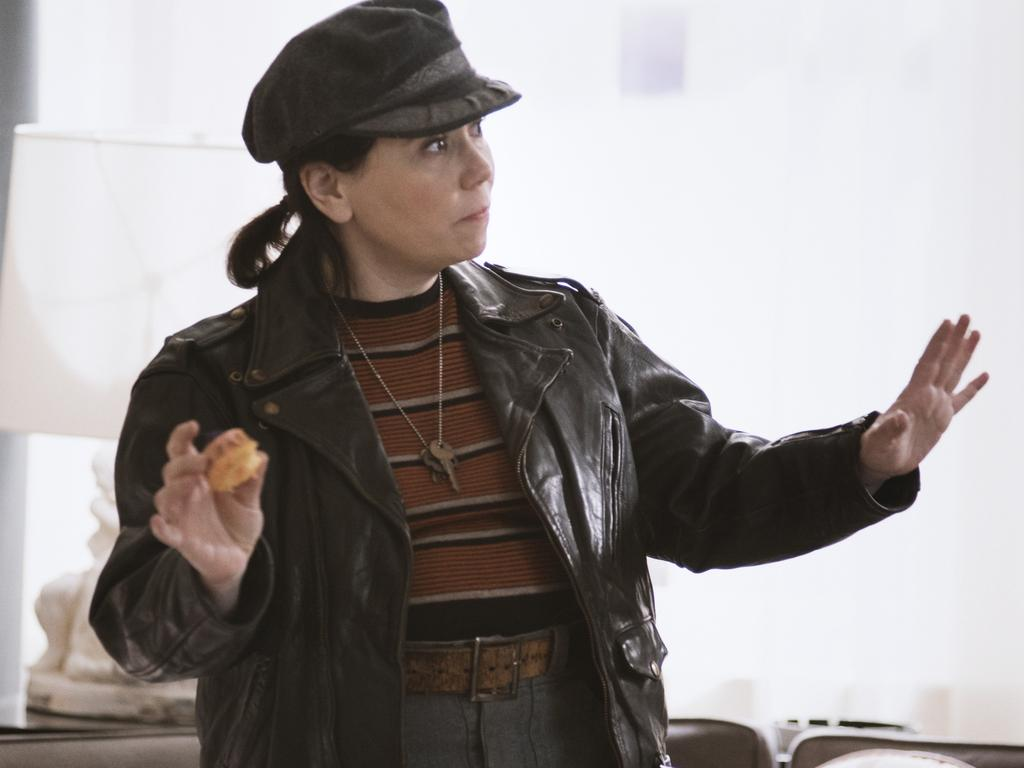 Alex Borstein in The Marvelous Mrs. Maisel. Picture: Supplied