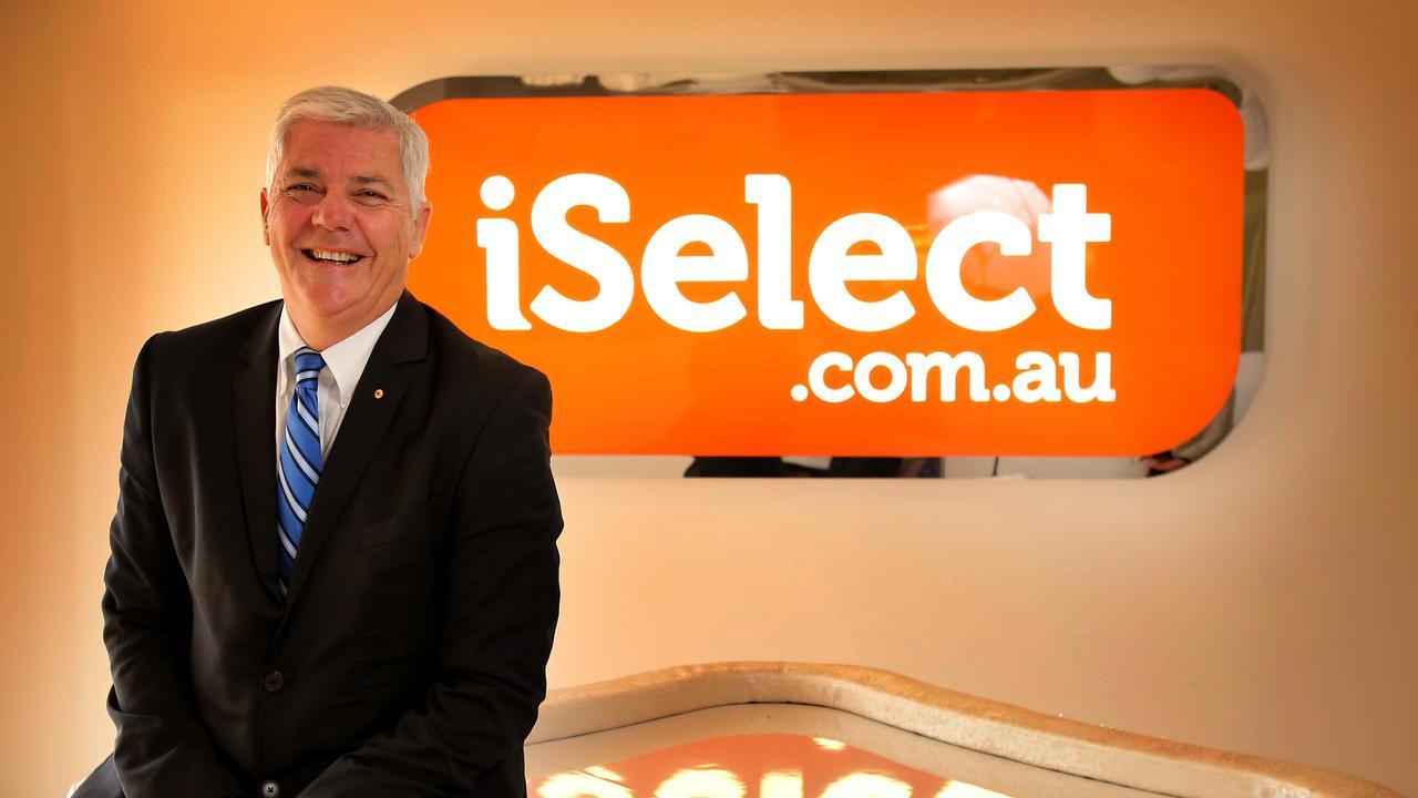 iSelect Chairman Chris Knoblanche. Picture: Stuart McEvoy