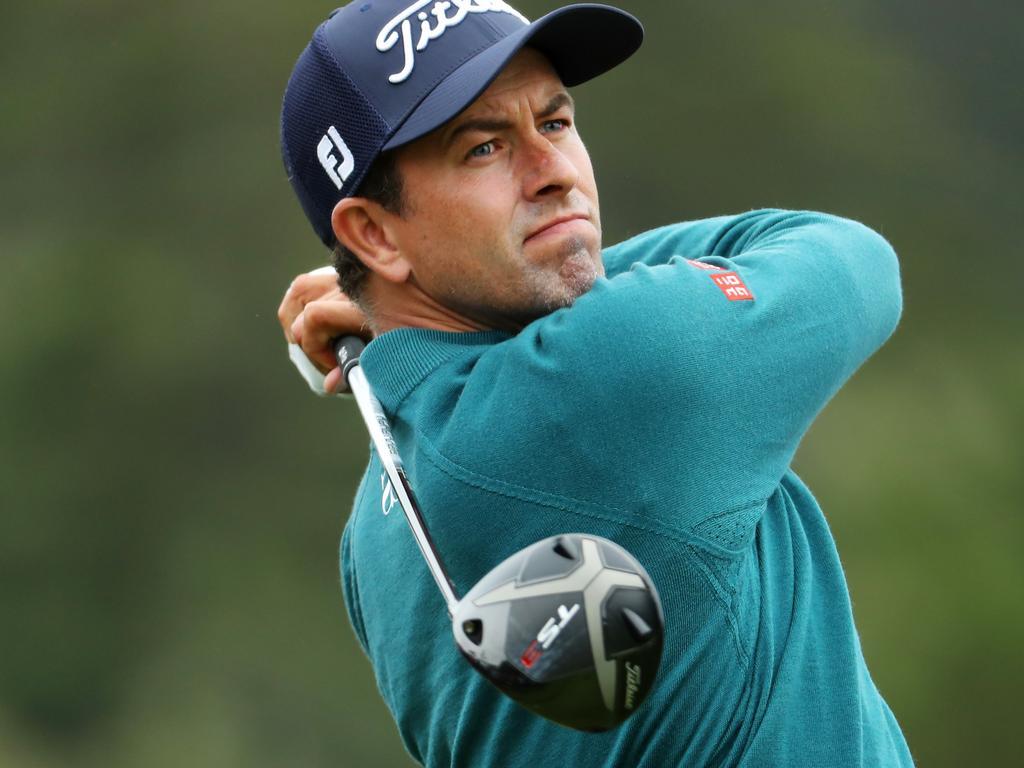 Adam Scott is one of six Australians hellbent on ending Australia's 26-year Open title drought.