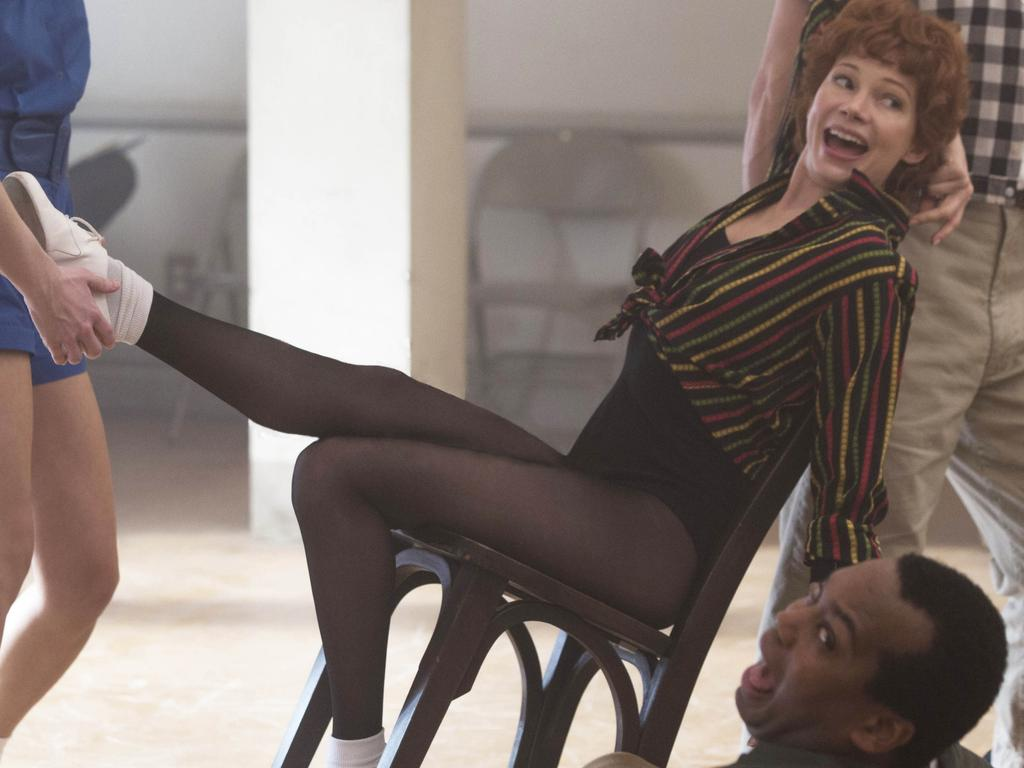 Michelle Williams plays Gwen Verdon in Fosse/Verdon. Picture: FX