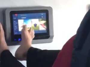 Passenger's 'disgusting' habit goes viral