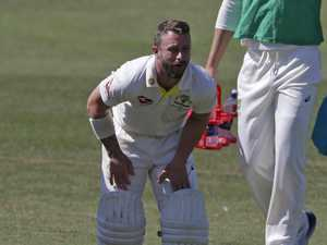 Wade rocked by Ashes injury scare