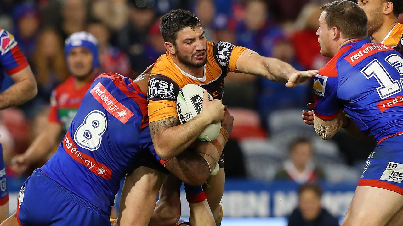 Matt Gillett has been ruled out of Thursday night's match. Picture: Getty Images