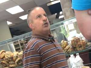 Viral sensation 'bagel guy' cashing in