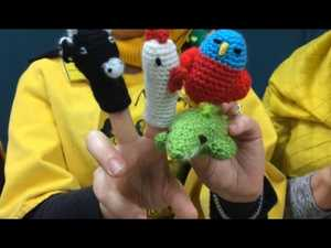 Knitting Nannas promote new toys