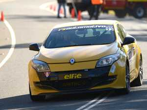 Ben Van Wegan in the 2010 Renault Megane RS250