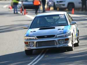 Daryl Watson in the silver Subaru