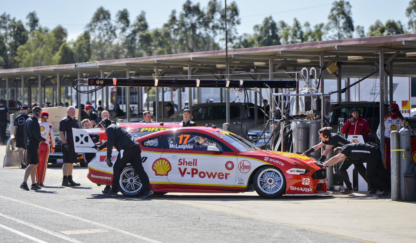 Pre-Ipswich SuperSprint round photos of drivers testing. Scott McLaughlin.